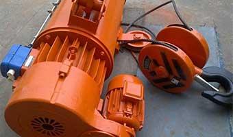 Outdoor motor hoist: 0.5~32t,6~48m