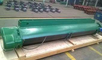 Electric motor hoist : 0.5~32t, 6~48m