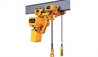 Electric motor hoist : 0.5~100t, 3~130m