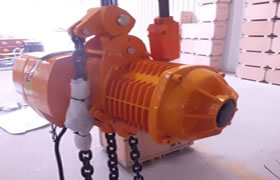 Lifting equipment Singapore – Electric hoist, rope & chain electric