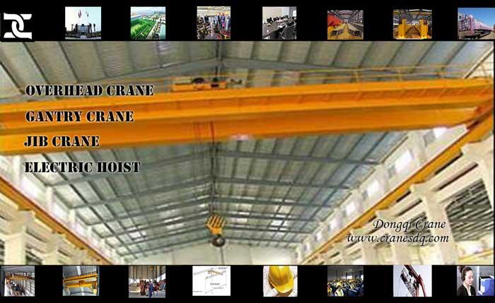 1-20 ton Single girder electric hoist overhead crane and 3- 32 ton