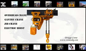 Electric hoist for sale Philippine| Dongqi Electric Hoist
