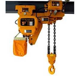 Types of hoists: electric hoist, manual hoist, chain hoist